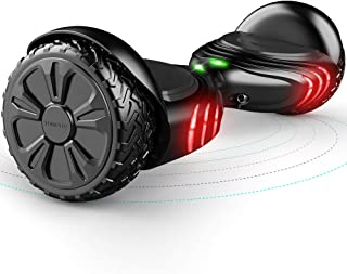 TOMOLOO Hoverboard with Bluetooth Speaker UL2272 Certified Self Balancing Electric Scooter 6.5