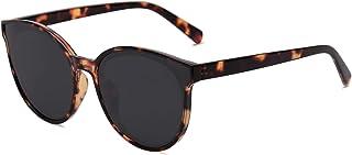 SOJOS Fashion Round Sunglasses for Women Men Vintage Shades SJ2057S