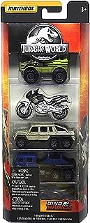 Terrain Trekkers Jurassic World Dino Rivals 5 Pack Diecast Vehicles
