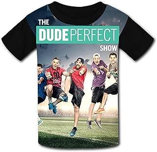 QIANBAIHUI Kids Youth The-Du-De-Per-FECT 3D Printed Crew Neck T Shirt Tee