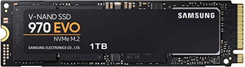 Samsung SSD Interne 970 EVO NVMe M.2 (1TB) - MZ-V7E1T0BW
