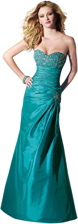 Alyce Designs Drop Waist ALine Dress 35443, Turquoise, 0