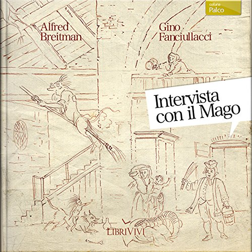 Intervista con il mago [Interview with the Wizard] audiobook cover art