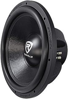 """Rockville W15K6D4 V2 15"""" 4000w Car Audio Subwoofer Dual 4-Ohm Sub CEA Compliant"""