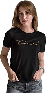 ABSOLUTE DEFENSE Believe Tshirt for Women