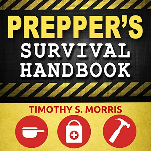 Prepper's Survival Handbook audiobook cover art