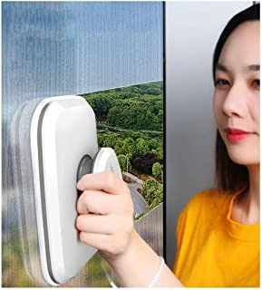 YGWG Wipe Window Household Cleaning Window Scraping Brush Double-sided Rubbing High-rise Glass Wiper Cleaning Tool Glass A...