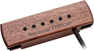 Seymour Duncan Woody XL Adjustable Pole Pieces Soundhole Pickup Walnut