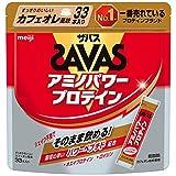 ザバス(SAVAS) アミノパワープロテイン(ホエイ+ロイシン) カフェオレ風味 4.2g×33本