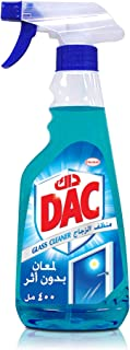 DAC Glass Cleaner Liquid Glass & Window Cleaners, 400 ml