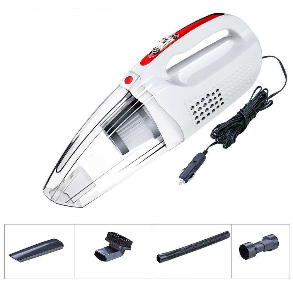 No Aspirador de Mano,120w de Alta Potencia Aspirador Potente Portátil Mojado y seco Mini Aspiradora Diseño inalámbrico El Filtro HEPA se Puede Lavar Adecuado para Uso en automóvil/hogar: Amazon.es: Hogar