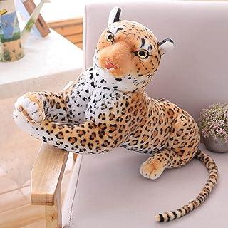 QXXKJDS Forest King Panthera Pardus Jaguar Multisizes Simulation Stuffed Wild Animal Cheetah Plush Black Panther Leopard S...