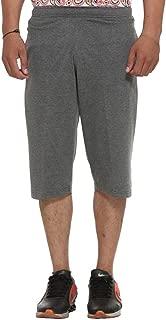 VIMAL Men's Cotton Blended Shorts (Small, Grey)