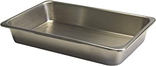 Grafco Metal Instrument Tray for Medical, Dental, Tattoo, and Surgical Supplies, Stainless Steel, 8-7/8