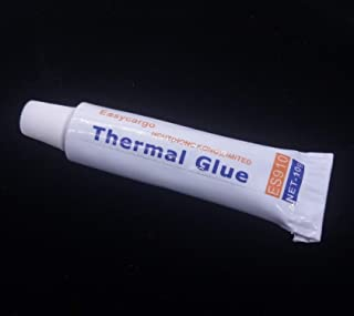 Easycargo 10gram Thermal Conductive Glue Kit, High Performance Silicone Thermal Plaster Adhesive Glue for Interface Heatsink with LED IC Chips Transistor