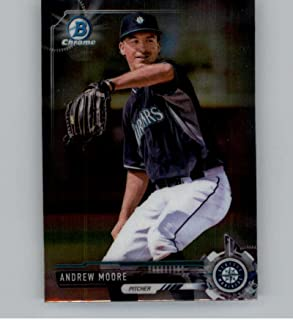 2017 Bowman Chrome Factory Set Mini #BCP152 Andrew Moore Seattle Mariners