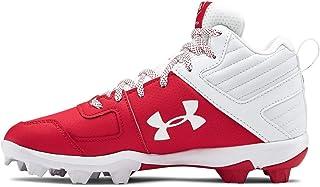 Unisex-Child Leadoff Mid Rm Jr. Baseball Shoe