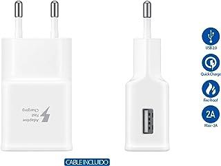 SAMSUNG Originale Tipo C Caricabatterie Caricabatteria rapido EP EP-TA20EWE Colore Bianco con Vpower Cavo USB di Tipo C Ca...
