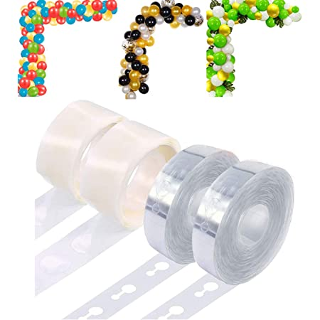 TOYXE 40036 Balloon Arch Strip and Glue Dots Tape Set of 2 Pcs Each