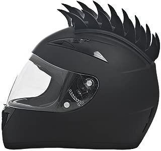 Daytona Shadow Full Face DOT Motorcycle Helmet w/Helmet Mohawk (Large)