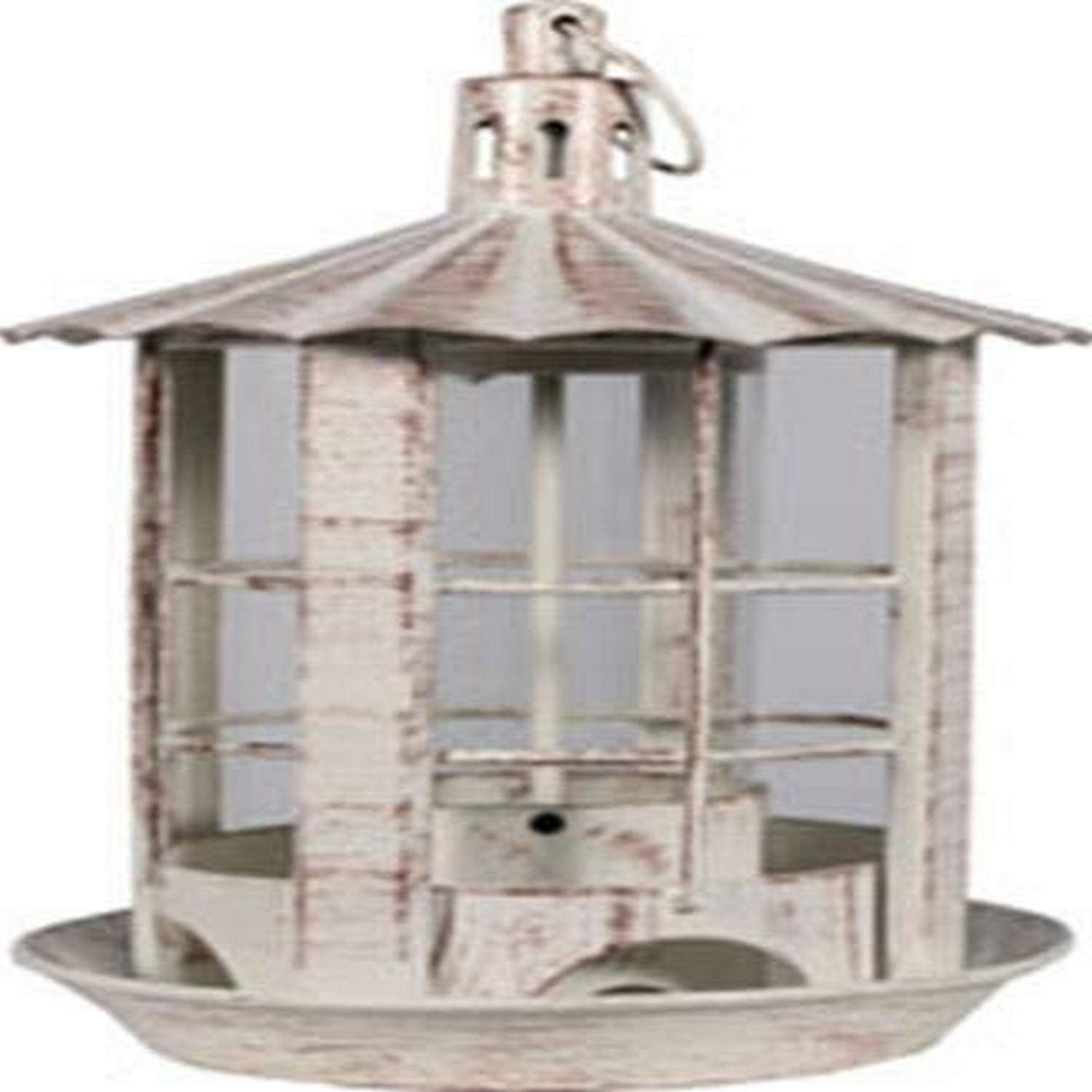 Overseas parallel import regular item Heath Outdoor Max 76% OFF Products 21534 Parkview Feeder White