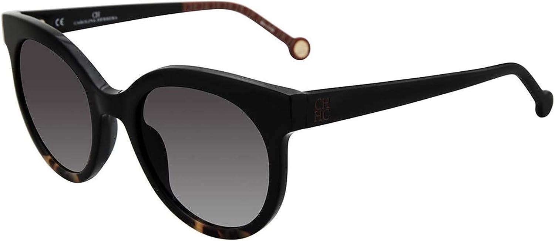 Carolina Herrera SHE745510700 Gradient round Sunglasses Black