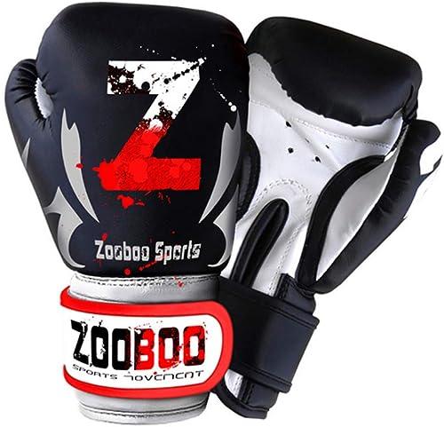 KMCC Gant Boxe Lutte Contre Le Kickboxing Sanda Gants Gants De Boxe Cuir PU Sparbague Sports Accessory Fighting