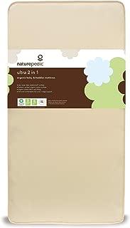 Naturepedic Organic Cotton 2-in-1 Ultra Crib Mattress