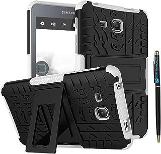 جراب Tab A 7 بوصة 2016 DWaybox 2 في 1 Combo Hybrid Armor Rugged Rugged شديد التحمل مع مسند لجهاز Samsung Galaxy Tab A 7. 0...