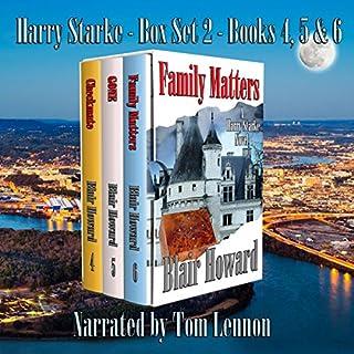 The Harry Starke Series: Books 4-6 audiobook cover art