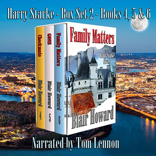 The Harry Starke Series: Books 4-6 audiobook cover art