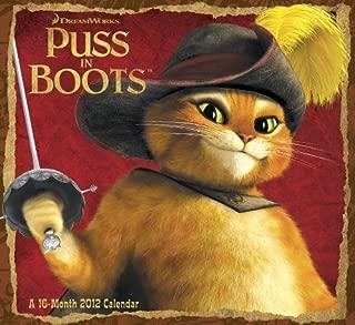 2012 Puss In Boots Wall Calendar