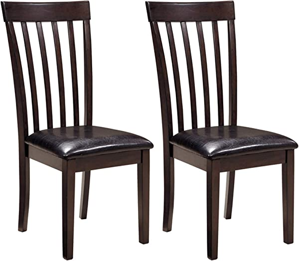 Ashley Furniture Signature Design Hammis Dining Room Chair Contemporary Set Of 2 Dark Brown