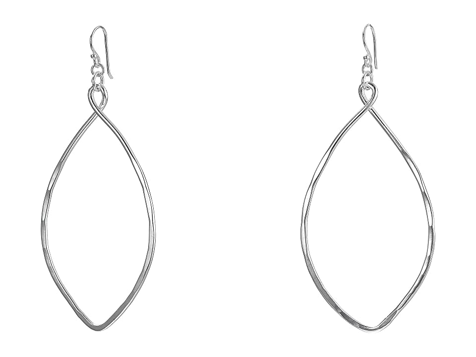 Robert Lee Morris - Robert Lee Morris Large Oval Drop Earrings