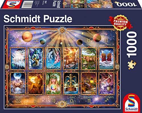 Schmidt Spiele Puzzle 58347 Sternzeichen, 1000 Teile Puzzle, bunt