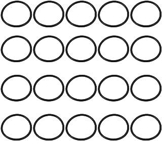 sourcing map 10stk O-Ringe Nitrilkautschuk Dichtringe Gummi Dichtungsring 37mm x 43mm x 3mm DE de