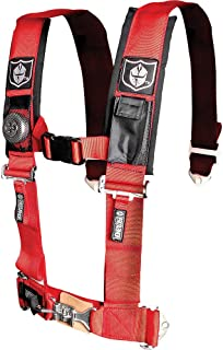 """Pro Armor A114220RD Red 4-Point Harness 2"""" Straps"""