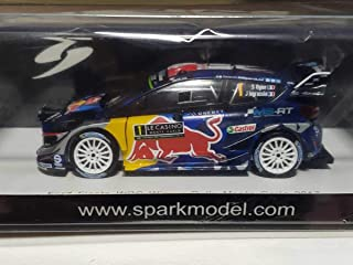 スパーク SPARK Ford Fiesta WRC No.1 Winner - WRC Monte Carlo 2017 M-Sport World Rally Team S. Ogier - J. Ingrassia