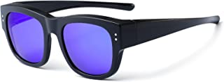 Oversized Fit Over Glasses Sunglasses with Polarized Lens...