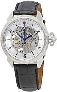 Lucien Piccard Men's LP-40052M-02S Trevi Analog Display Mechanical Hand Wind Black Watch