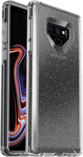 OtterBox Symmetry Clear Series Case for Samsung Galaxy Note9 - Frustration Free Packaging - Stardust (Silver Flake/Clear)