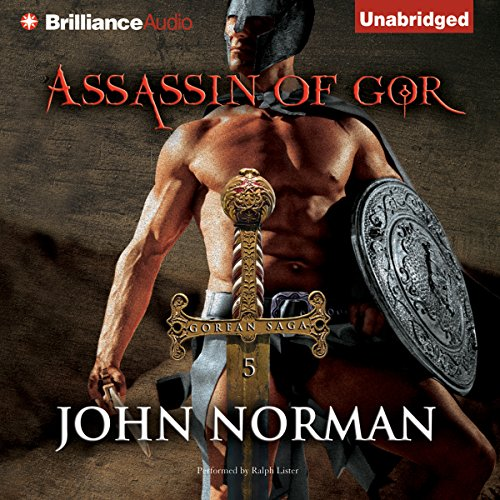 Assassin of Gor audiobook cover art