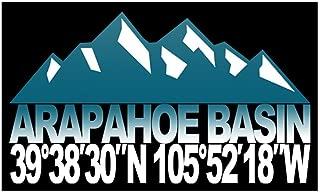 CafePress Arapahoe Basin Sticker (Rectangle) Rectangle Bumper Sticker Car Decal