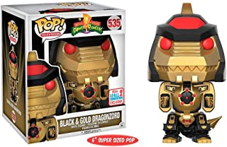 Funko POP! Black and Gold Dragonzord #535 Fall Convention Exclusive