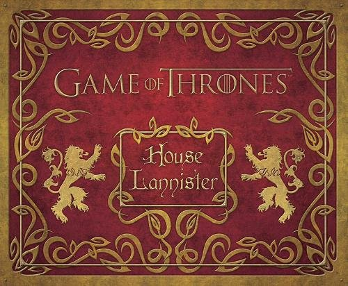 GAME OF THRONES: HOUSE LANNISTER DELUXE STATIONERY SET (Insights Deluxe Stationery Sets)