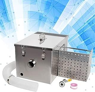 Grease Trap Interceptor Set, Denshine Stainless Steel Grease Trap Interceptor Set Detachable Design For Restaurant Kitchen Wastewater Removable Baffles