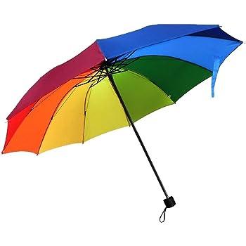 Camtoa - Paraguas con estrellas plegable, de viaje, resistente al ...