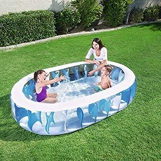 حوض سباحة بيضاوي قابل للنفخ من بيست واي 54066