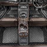 Dinuoda Alfombrillas personalizadas para Mazda 2 3 5 6 CX-3 CX-5 CX-7 CX-9 MX-5 BT50 RX8 Tribute Full rodeado de protección para todo tipo de clima, forro de piel XPE, negro y beige