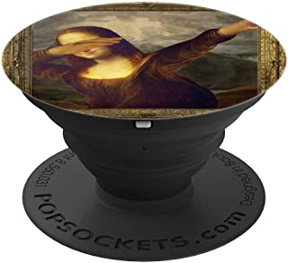 Mona Lisa Dabbing PopSockets Grip and Stand for Phones and Tablets